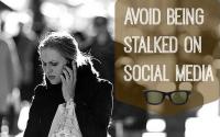 avoid stalkers on social media
